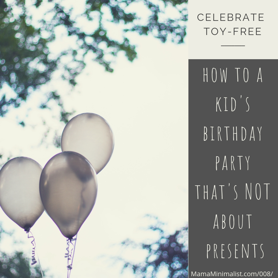 How To Host A Fabulous Birthday Party For Your Kid That Is Gift Free